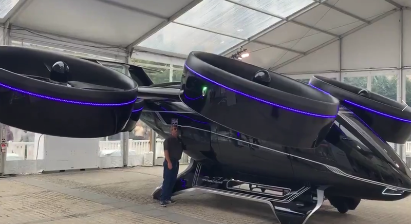 Uber Unveils Its Futuristic-Looking Air-Taxi, Slated For Release In 2023
