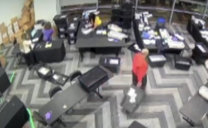 """This Needs Answers"": CCTV Video Of Georgia Poll Workers Sparks Election Fraud Outrage"