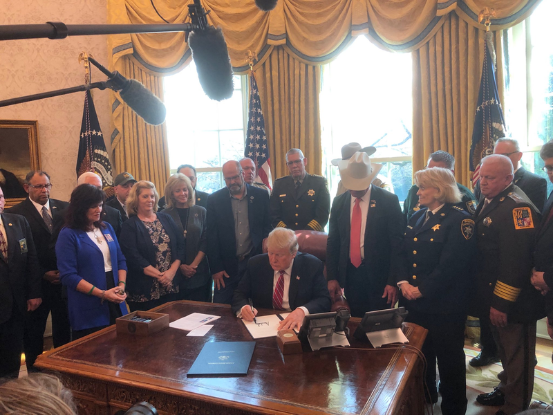Trump Signs First Ever Veto Upholding Border Emergency Declaration [VIDEO]