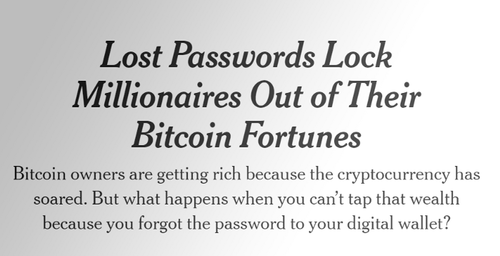 About That Guy Who Can't Access His Bitcoins