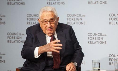 "Kissinger: Biden Must Uphold Trump Administration's ""Brilliant"" Policy In The Middle East"