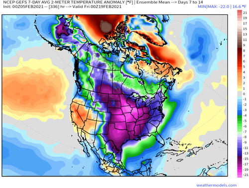 Meteorologists Warn 'Deep Freeze' For The US Begins Next Week