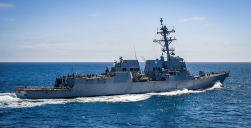 US Warship Sails By China-Controlled Islands, Angering Beijing