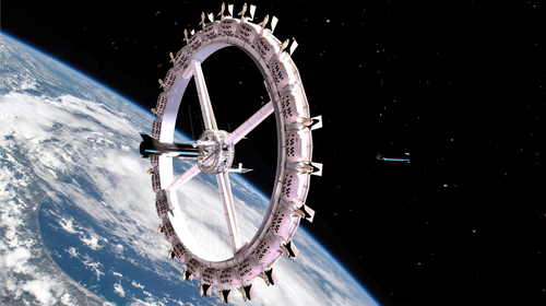 "​​​​​​​First-Ever ""Space Hotel"" Begins Construction In 2025, Operational By 2027"