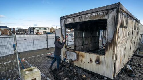 Dutch Youth Torch COVID-Testing Facility In Violent Curfew Backlash