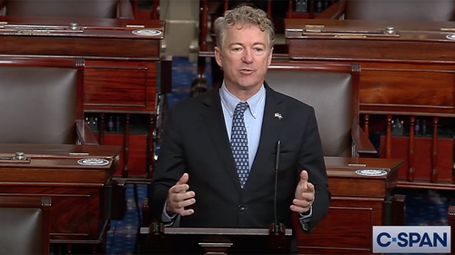 "Rand Paul: Dems Are ""Angry, Unhinged, Deranged By Their Hatred"" Of Trump"