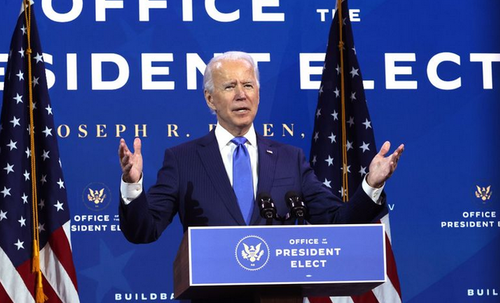 Biden Lashes Out At Trump In Post-Electoral College Speech