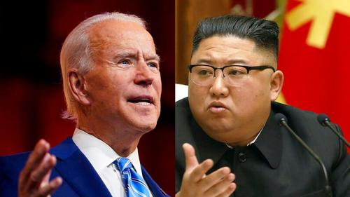 "Biden Has No 'Intention' To Meet With N.Korea's Kim, Vows ""Additional Actions"""