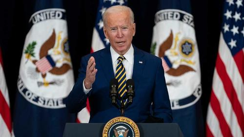 "Biden Vows To ""Defend Democracy Globally"", Says ""Days Of Rolling Over"" To Russia ""Are Over"""