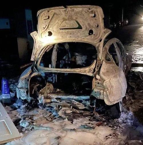 Tesla Investigating Model 3 Fire In Shanghai After Collision Causes Battery Short Circuit