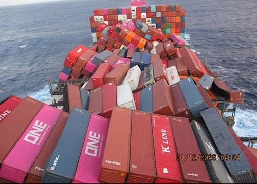 Ship Crossing Pacific Loses 750 Containers In The Ocean After Hitting Storm