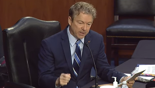 """You Have Permanently Changed Them"": Rand Paul Grills HHS Nominee Rachel Divine Over Parental Consent For Trans Minors"