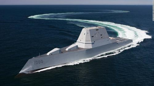 "US Navy's New Shipbuilding Plan Wants To ""Achieve Maritime Supremacy"" Amid Rising China"