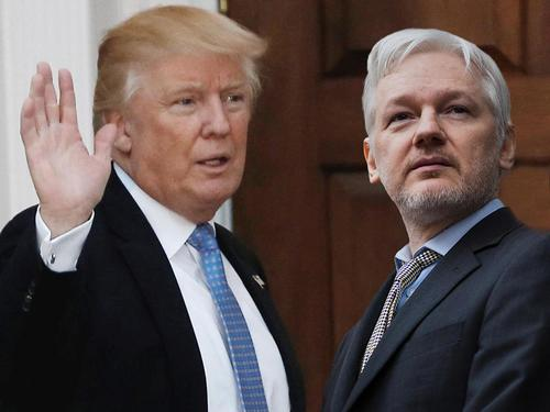 Trump Plans 100 Pardons For Tuesday - Will Assange Be Among Them?