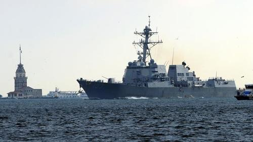 "US Mulls Sending Warships Into Black Sea To Be ""Ready To Respond"" To Ukraine Crisis"