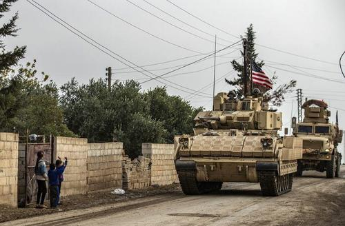 A Large US Military Convoy Rolled Into Syria On 1st Day Of Biden Presidency