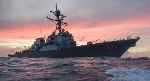 "US Warship ""Expelled"" From South China Sea By PLA Forces"