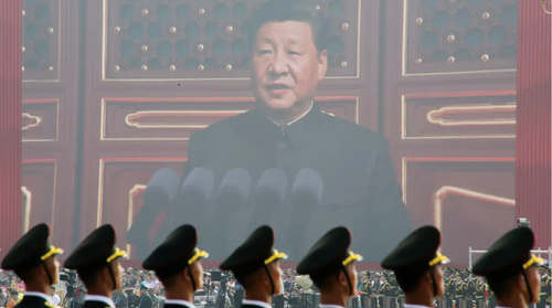 Xi calls out US as