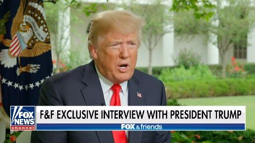 "Trump: ""If I Got Impeached, The Market Would Crash And Everybody Would Be Very Poor"""