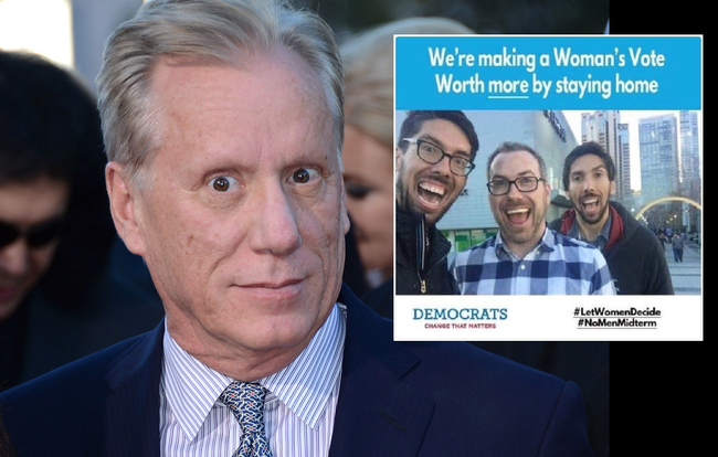 James Woods Suspended From Twitter Over Satirical Meme ...