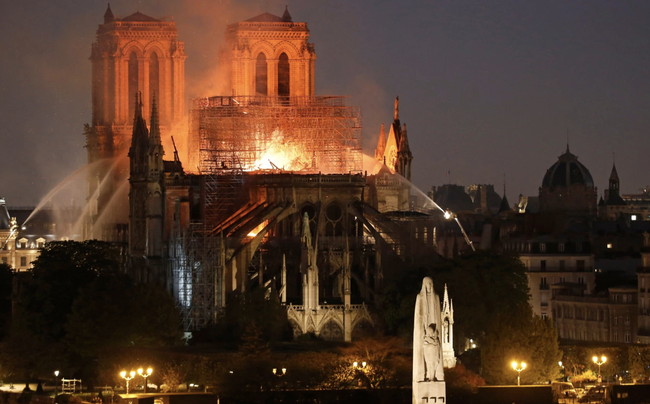 Apple Joins Growing List Of Companies Helping To Rebuild Notre Dame