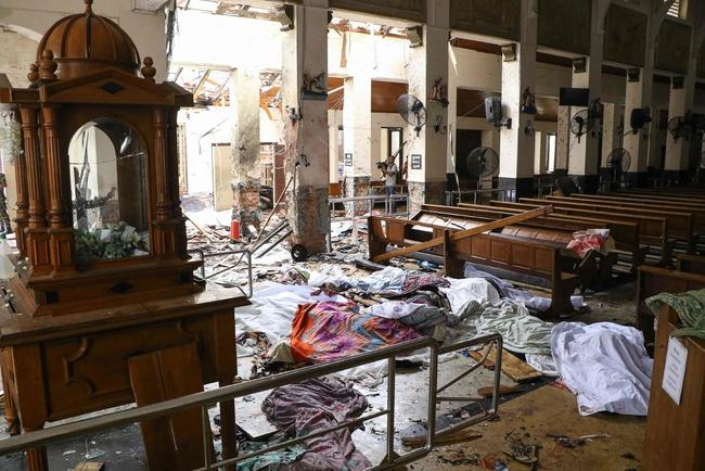 Bloody Sunday: Sri Lanka Easter Church And Hotel Bombings Kill Over 200