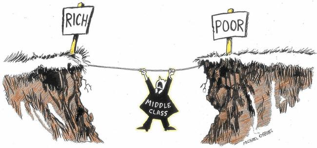 "Misplaced Pride: Most Of The ""Middle Class"" Is Actually Working Class"