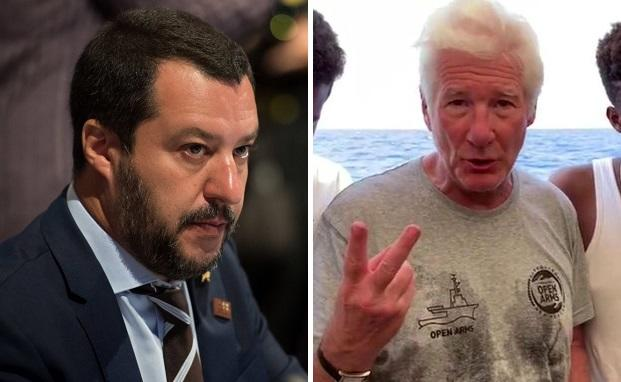 "Salvini Erupts At Richard Gere: ""Why Don't You Take Italy's Migrants To Hollywood On Your Jet"""