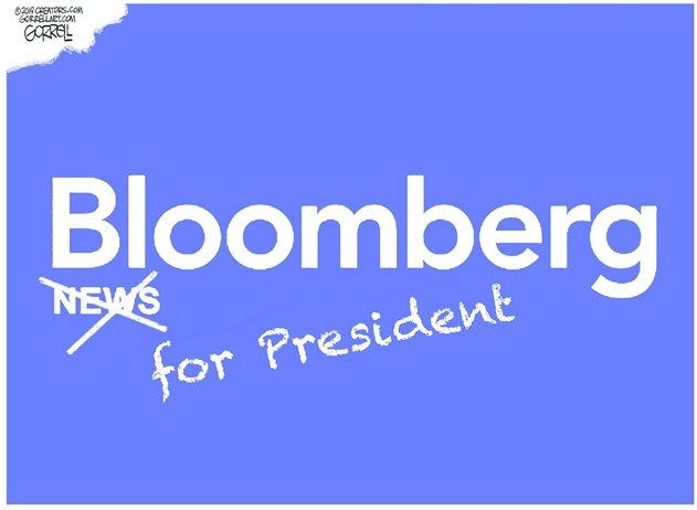 "White House Revokes Press Pass For ""Openly Biased"" Bloomberg News"