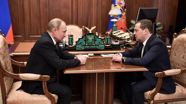 Russian Government Unexpectedly Resigns On Putin Plans For Drastic Constitutional Changes