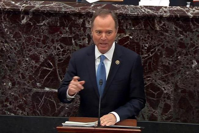 'Trump Might Trade Alaska To The Russians!' Cries Schiff During Closing Impeachment Remarks