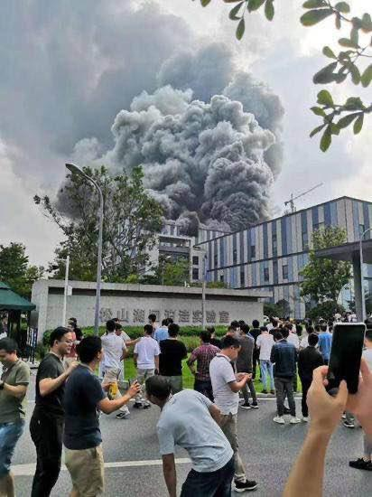 Fire Breaks Out At Huawei's 5G Antenna Research Lab