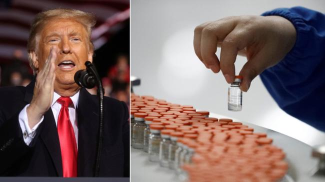 Trump Says He Won't Force Americans To Take COVID-19 Vaccine
