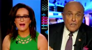 """You Better Apologize For That!"": Rudy Giuliani Goes Nuclear On Fox Host After Christopher Steele Comparison"