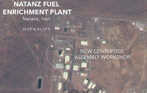 Iran Just Activated Formerly Banned High-Tech Uranium Centrifuges At The Same Site Trump Considered Attacking