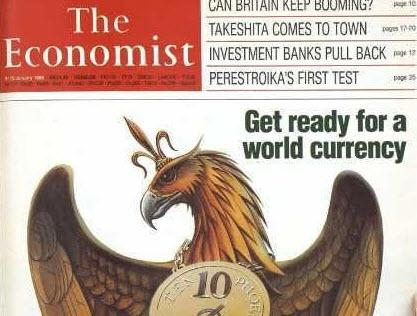 The Economist Quot Get Ready For A World Currency By 2018